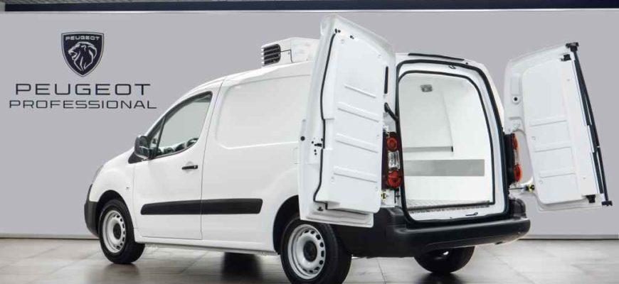 2021 Peugeot Partner (изотермический фургон)