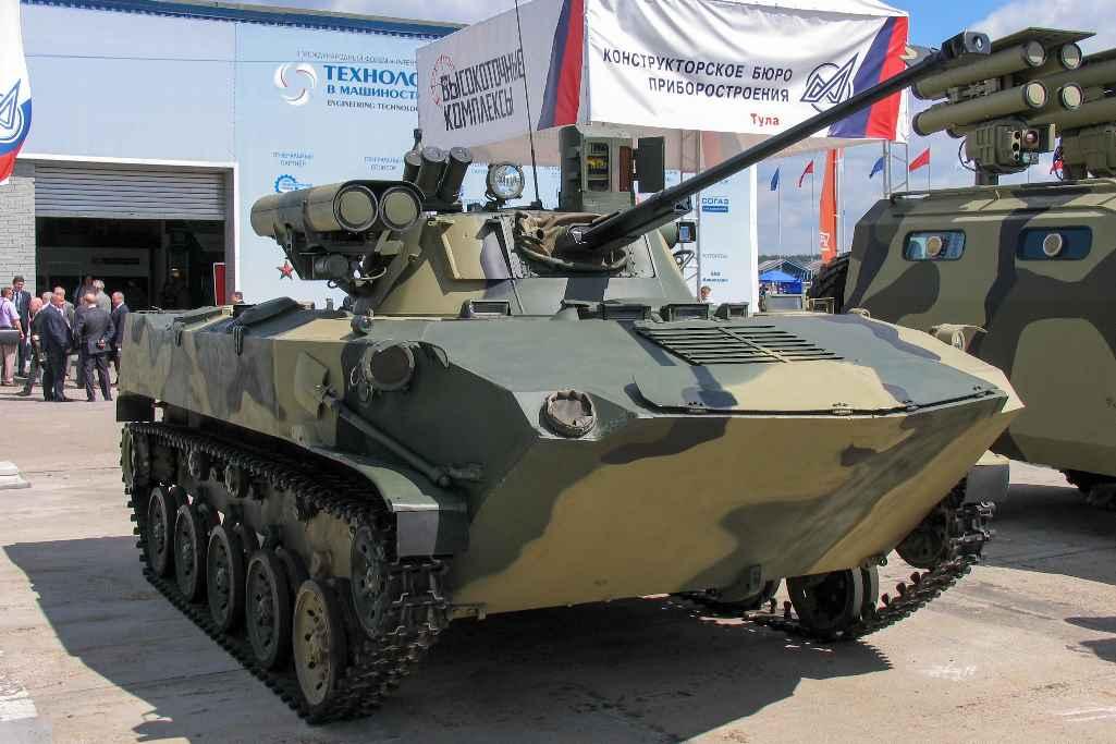Боевая машина десанта (БМД-2)