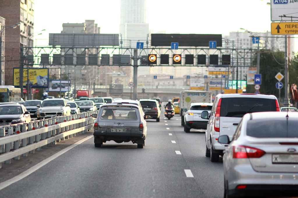 Московская кольцевая автодорога (МКАД)