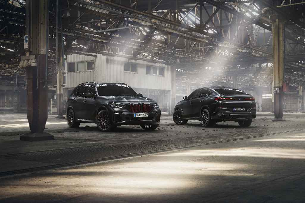 BMW X5 Black Vermilion edition и BMW X6 Black Vermilion edition