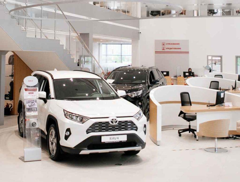 «Тойота Центр Красноярск» - дилер Toyota в Красноярске