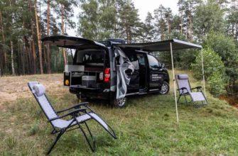 2021 Peugeot Traveller 4x4 для охотников и рыболовов