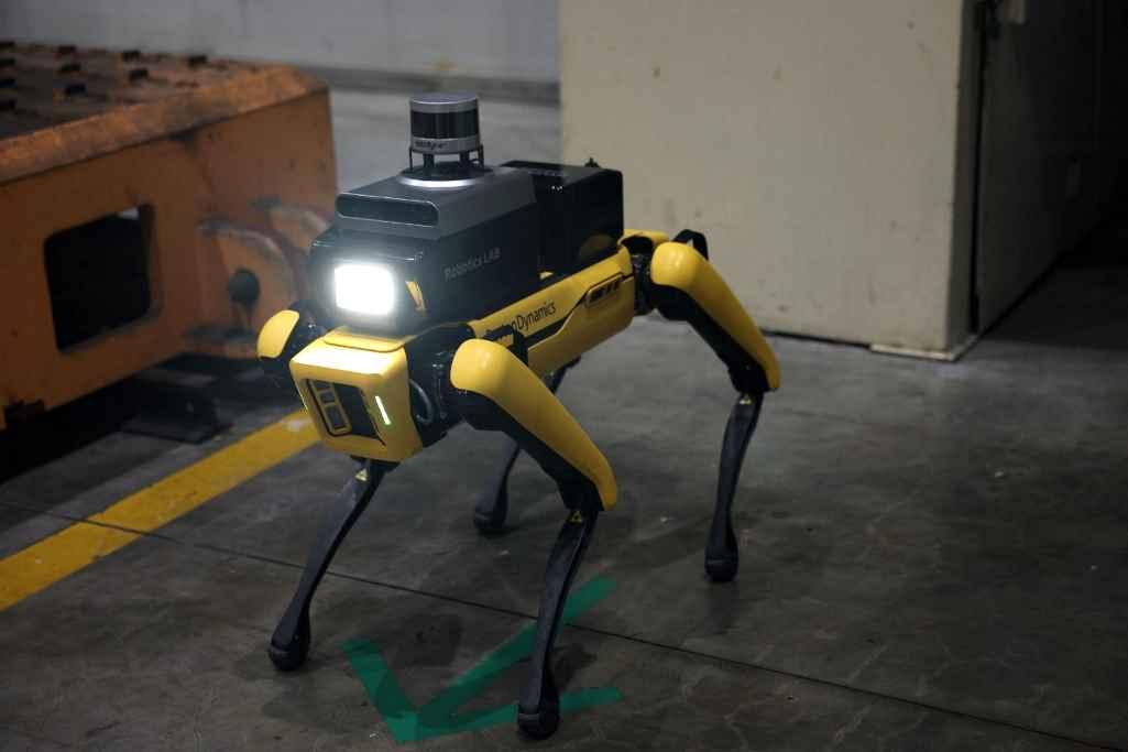 Factory Safety Service Robot - робот, созданный Hyundai Motor и Boston Dynamics