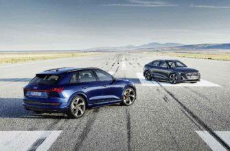 2021 Audi e-tron S и 2021 Audi e-tron S Sportback
