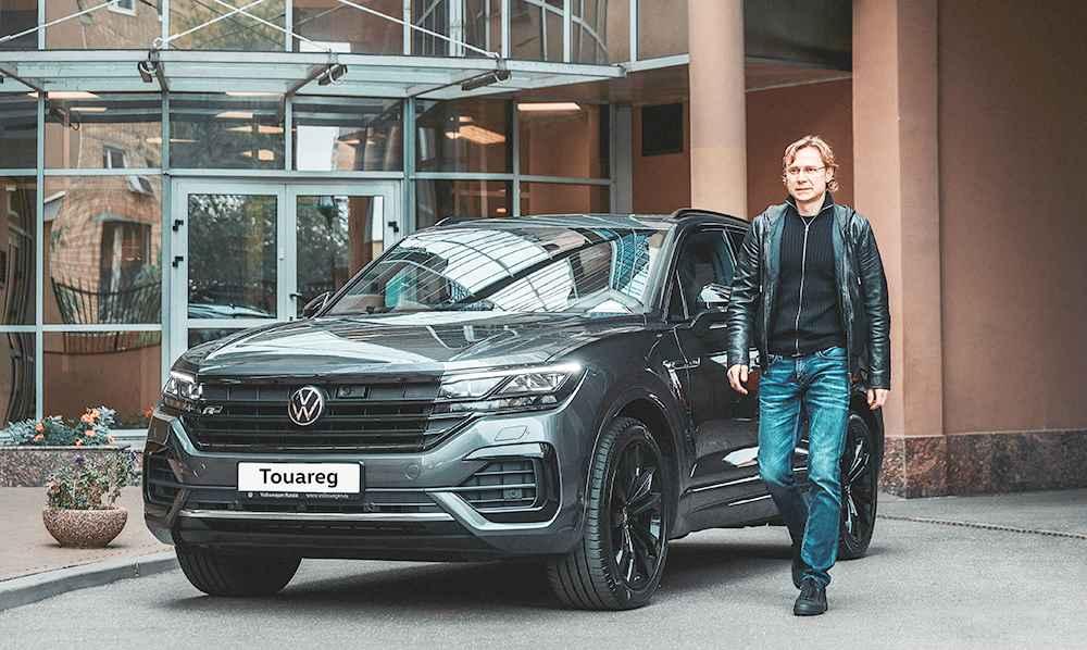 Валерий Карпин и Volkswagen Touareg R-Line