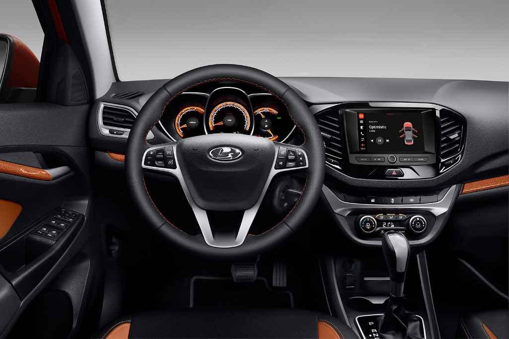 Lada Vesta Sport с системой EnjoY