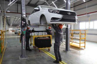 Завод Lada. Производство автомобилей Lada в городе Джизак, Узбекистан