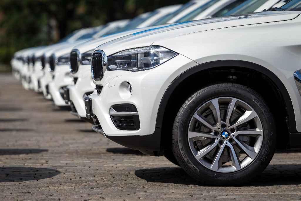 Автомобили BMW для российских олимпийцев