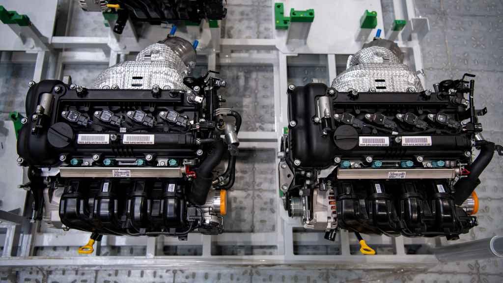 Завод двигателей Hyundai WIA в Санкт-Петербурге