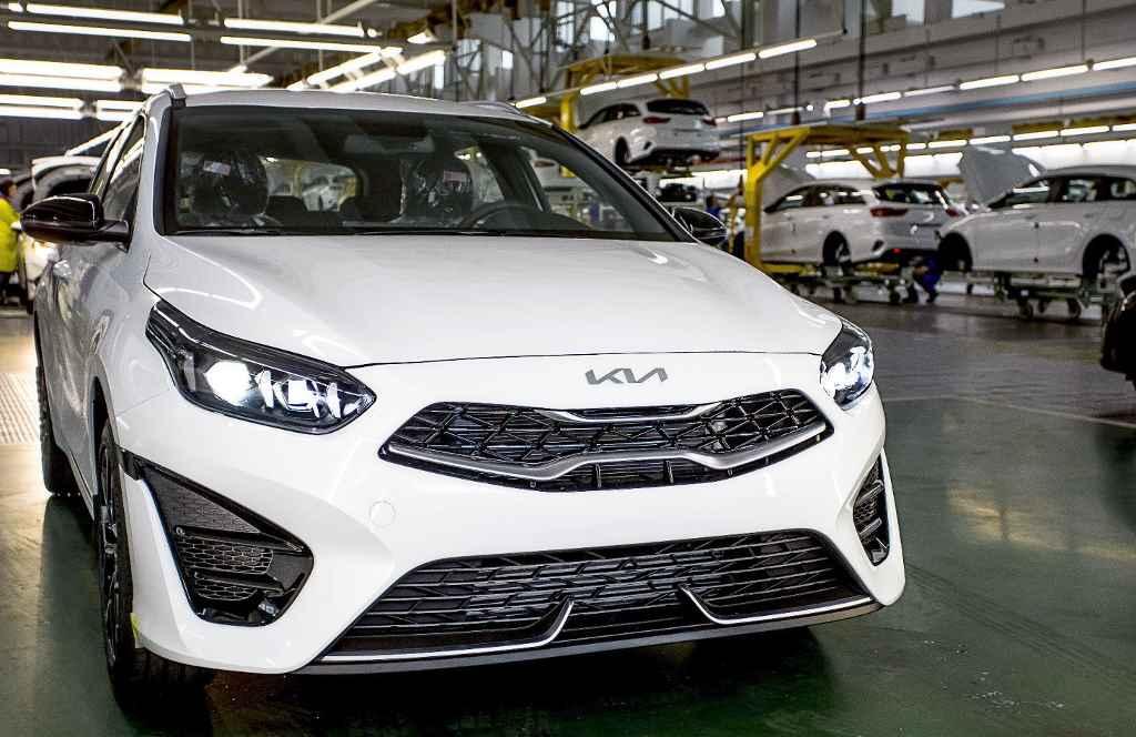 "Производство Kia Ceed 2022 на заводе ""Автотор"" в Калининграде"